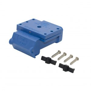 Fake Anderson plugs / blue Anderson plug cover 120 amp / Trailer Vision Anderson Cover / Anderson Plug LED / Anderson plug surface mount