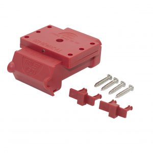 Fake Anderson plugs / red Anderson plug cover 120 amp / Trailer Vision Anderson Cover / Anderson Plug LED / Anderson plug surface mount