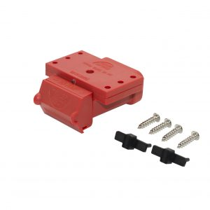 Fake Anderson plugs / red Anderson plug cover 50 amp / Trailer Vision Anderson Cover / Anderson Plug Accessories LED / Anderson plug mount