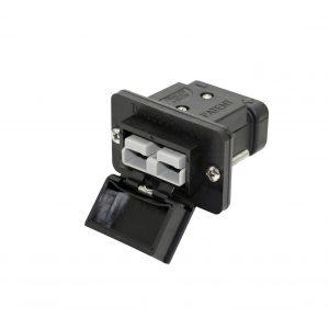 Flush mount Anderson plug / Anderson Plug Kit / Fake Anderson plugs / Trailer Vision Anderson Cover / Anderson Plug Accessories / Anderson plug mount